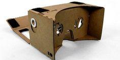 Google 'Cardboard' Offers $2 DIY Virtual Reality..nice