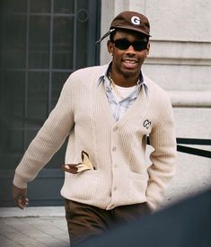 Tyler The Creator Fashion, Tyler The Creator Outfits, Mode Streetwear, Streetwear Fashion, Tyler The Creator Wallpaper, Young T, Facon, Retro Outfits, Looks Cool
