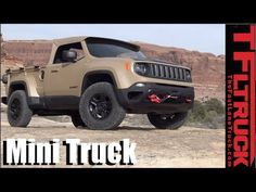 We drive the Jeep Comanche Diesel Mini Truck Concept Off-Road - YouTube