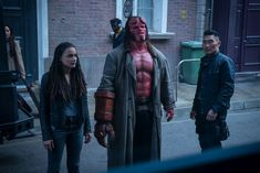 Lionsgate has released a new Hellboy image along with some more details about the plot of the film, which stars David Harbour and Milla Jovovich. Milla Jovovich, Latest Movies, New Movies, Imdb Movies, Cult Movies, Sasha Lane, Hellboy Movie, Netflix, Movies Coming Out