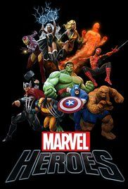 Marvel Heroes Poster