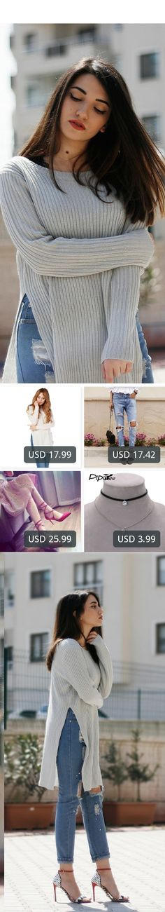 This is Melike Gül's buyer show in OurMall;  1.Lady Knitwear Women Casual Sweater Female Autumn Winter Knitted Plus 2.2016 Casual Holes Ripped Jeans For Women Denim Blue Trousers Female Retro Denim Korean Style Pencil 3.Pointed Toe High Heel Pumps Women Shoes Red Shallow Cr... please click the picture for detail. http://ourmall.com/?ieUbQj #sweater #sexysweater #sweaterforwomen #sweaterforgirls #springsweater #graysweater #cutesweater #refashionsweater