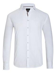 #TuesdayTreasure | A classic white shirt is a must in every wardrobe! #bugattifashion #AW15/16 #menswear #shirt #white #classic