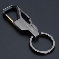 Car Business Keychain Key Ring for Men