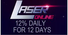 LASER investment review Bitcoin FORUM HYIP Start: 01.07.17 Features: - Language: EN... - Accept: BitCoin [BTC] PM PAYZA Payeer ADVCash  - Payments: Instant  - Referral plan: 5-2-1% - Fee for withdrawal: 0% - Minimum deposit: 5 USD - Minimum withdrawal: 1 USD - Deposit refund: Include in payout BitCoin Invest plans: 12% Daily For 20 Days