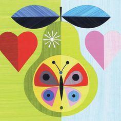 A lovely juicy pear by Ellen Giggenbach