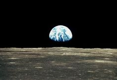 Earth seen from Moon