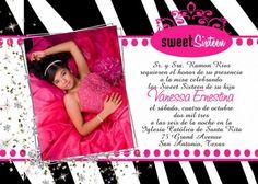 Zebra Party Invitation Birthday Pink - Zebra Couture