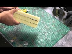 Creating realistic rock texture for wargaming scenery - YouTube