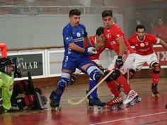 Hóquei em Patins: Diogo Rafael, Válter Neves... SL Benfica