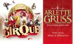 Groupon - 1 place pour la nouvelle tournée 2016 du Cirque Arlette Gruss…