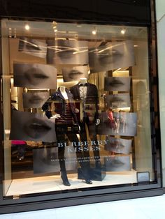 LK By Lincoln Keung: BURBERRY Window Display -- THE ELEMENTS -- Hong Kong