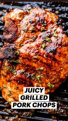 Pork Recipes, Cooking Recipes, Salmon Recipes, Grilled Recipes, Grilled Food, Healthy Grilling Recipes, Summer Grilling Recipes, Grilling Ideas For Dinner, Grilled Dinner Ideas