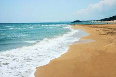 Stunning sandy beach in North Cyprus. Empty, clean and beautiful. Perfect location for honeymoons North Cyprus, Honeymoons, Empty, Beaches, Landscape, Water, Holiday, Travel, Outdoor