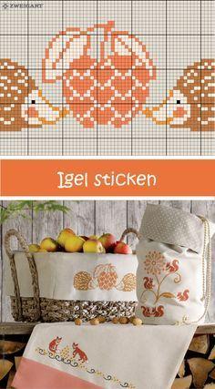 Herbstliche Igel Sticken Entdecke Zahlreiche Kostenlose Charts Zum Sticken Sticken Sticken Kreuzstich Kreuzstichblumen