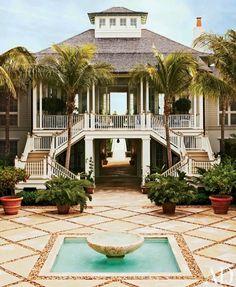 Une maison en bord de mer   luxe, vacances, villas de luxe. Plus de nouveautés sur www.bocadolobo.co...