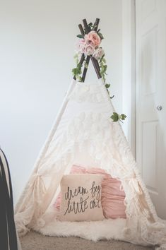 "The ""Bianca"" teepee from SugarShacksTeepee"