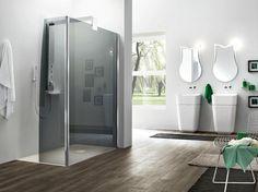 Box doccia angolare in vetro temperato SEPARET OTTO PLUS by ARBLU
