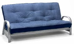 Love this metal futon sofa bed £349