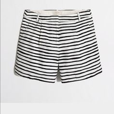 "NWT JCrew 5"" shorts Navy and white chino shorts J. Crew Shorts"