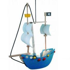 Kinderlampe Piratenschiff