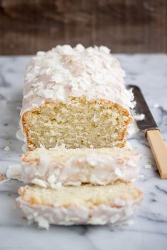 Lime-Coconut Quick Cake