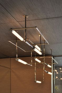 Elegant lighting pendants for a modern interior.