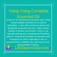 #ylangylangcomplete #essentialoil #lifeessentially #ameo