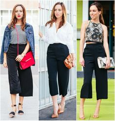 Staples Series: How to Wear Culottes, spring fashion, spring trends