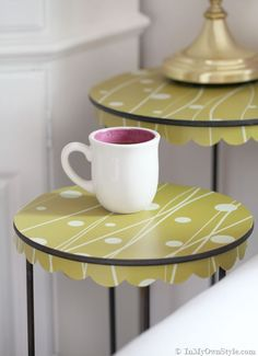 Removable Wallpaper by Chasing Paper | Furniture Makeovers | InMyOwnStyle