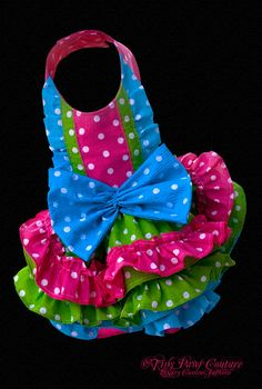 Fiesta Princess Couture Dog Dress Multi by tinypawscouture, $79.99 Terrific little dress for fun in the sun!