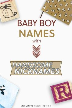 Baby boy names that have matching nicknames are something many new mothers and fathers are looking for. Here are some handsome name ideas that have nicknames (and aren't strange) for your newborn. Names With Nicknames, Cute Nicknames, Cool Baby Boy Names, Unique Baby Names, Pregnancy Health, Baby Health, Pregnancy Tips, Baby Birth, Baby Newborn