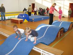 """mats over object to create """"hills"""" to climb, repined by RecyclingOT.com"""