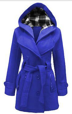 My coat. Love this blue.
