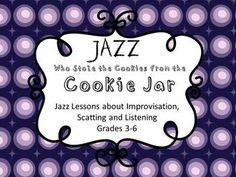 Jazz Lesson, Cookie Jar - Elementary Music