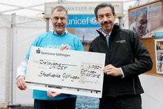"""Stadtwerke Göttingen spenden für """"Wasser wirkt""""-Kampagne von Unicef Deutschland"""