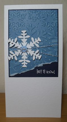 Helen's Craft Haven...: Let It Snow!