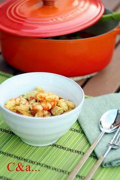 Cucinando e assaggiando...: Curry di pollo e gamberi