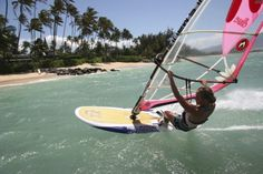 Windsurfing is a great sport for boys, girls, men and women of all ages!