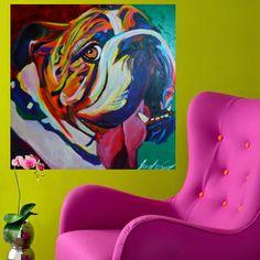 OBRA À VENDA !   CAROLINA WANG - ACRÍLICO SOBRE TELA- MEDIDA: 100x100CM   PREÇO SOB CONSULTA  UBERARTART@GMAIL.COM ENTREGAMOS PARA TODO BRASIL  #quadros #quadro #arte #artista #decora #decoracao #decor #designhouse #pintura #interiores #interiordecor #criatividade #art #arq #home #arquitetura #picture #decoracaodeinteriores #colorido #colors #cor #cores #artesplasticas #artecontemporânea #supercolorido #decoracao #buldogue #cachorro
