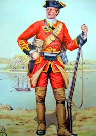 Image result for seven years war british uniforms