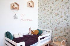 chambre-fille-vintage-retro-romantique-rose-vert-menthe | Deco ...