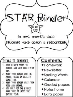 Simply 2nd Resources: Update on STAR binders