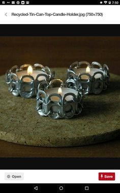 Candle rings