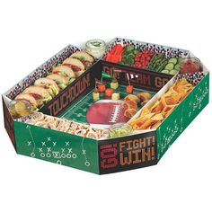 Check out Football Snack Stadium- Other from Birthday In A Box