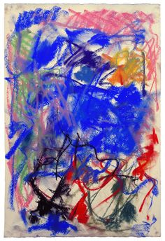Joan Mitchell - Untitled, 1989