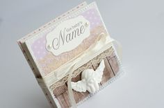 Baby's First Year Album Baby Memory Book by VioletCloudlet on Etsy