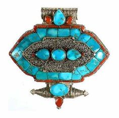 Turquoise Jewelry on Tibetan Turquoise And Red Coral Jewelry
