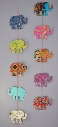 7 diy dorm decorations to make uconn pinterest dorm do it yourself printable wall art good ideas diy ideas framed art elephant elephants for the home frame solutioingenieria Gallery