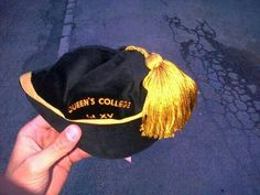 1st team rugby cap Queen's College, Rugby, Queens, Captain Hat, Hats, Fashion, Moda, Hat, Fashion Styles